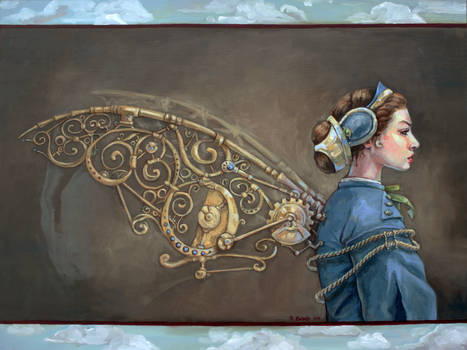 On steampunk wings