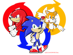 We are Sonic heroes...