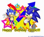 Happy 20th Sonic
