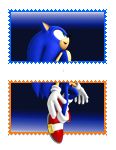 Sonic portal stamps by xRubiMalonex
