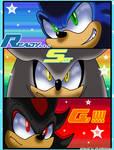 Rivals race..