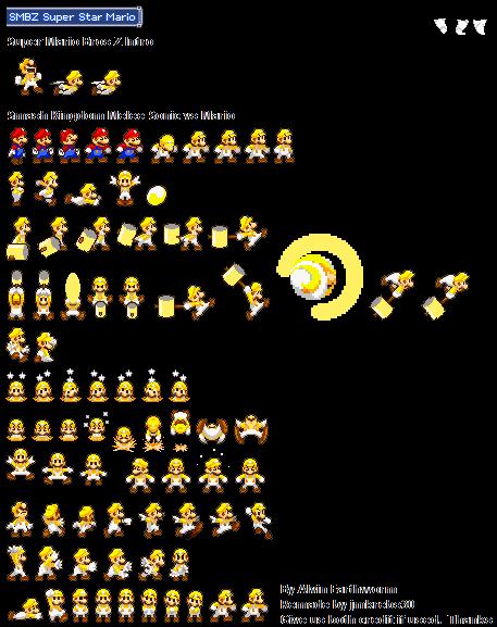 Super Star Mario by jmkrebs30