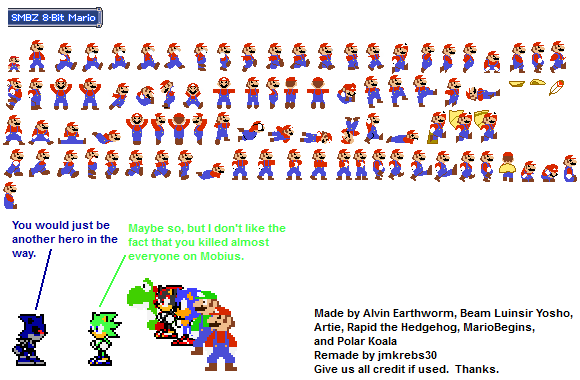 8 Bit Mario By Jmkrebs30 On Deviantart
