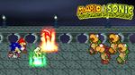 Fire Luigi and Chaos Shadow vs. Koopa Bros.