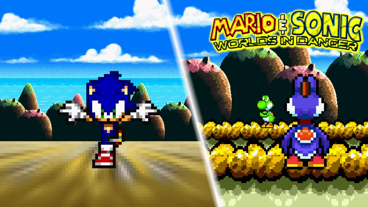 Yoshi and Sonic Vs  Boshi by jmkrebs30Yoshi Vs Boshi