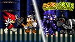 Mario and Sonic vs Basilisx and Mecha Sonic