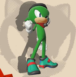 Speedy the Hedgehog (Sonic Forces Ver.)