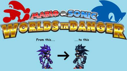 Mecha Sonic Conversion Help