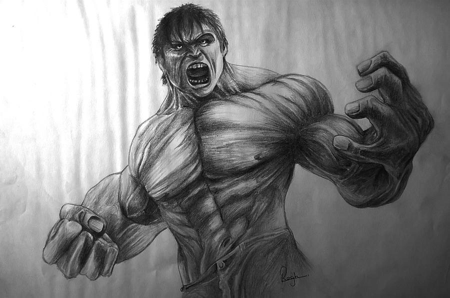 hulk pencil drawings by raghartist on DeviantArt