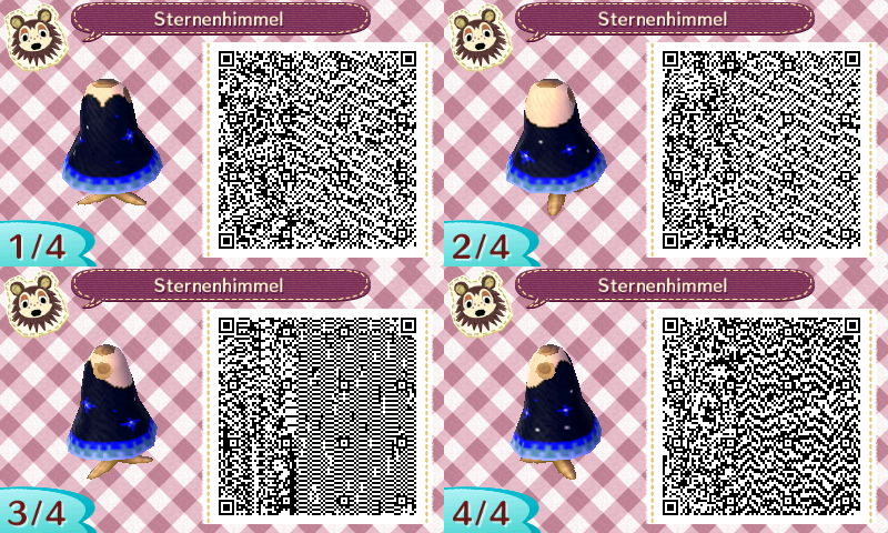 Animal Crossing New Leaf: Night sky dress by HildaWhite