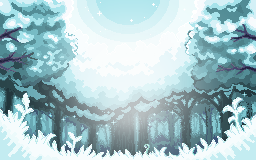 Icy Forest by HildaWhite