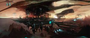 Manta Ray City by dee-virus