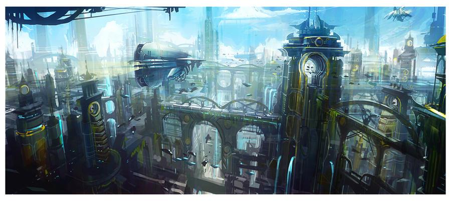 Metropolis by dee-virus