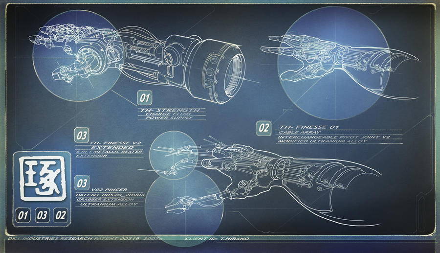 Taku Hirano power arms by dee-virus
