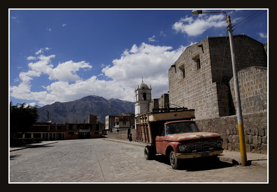 Cabanaconde street by faondejade