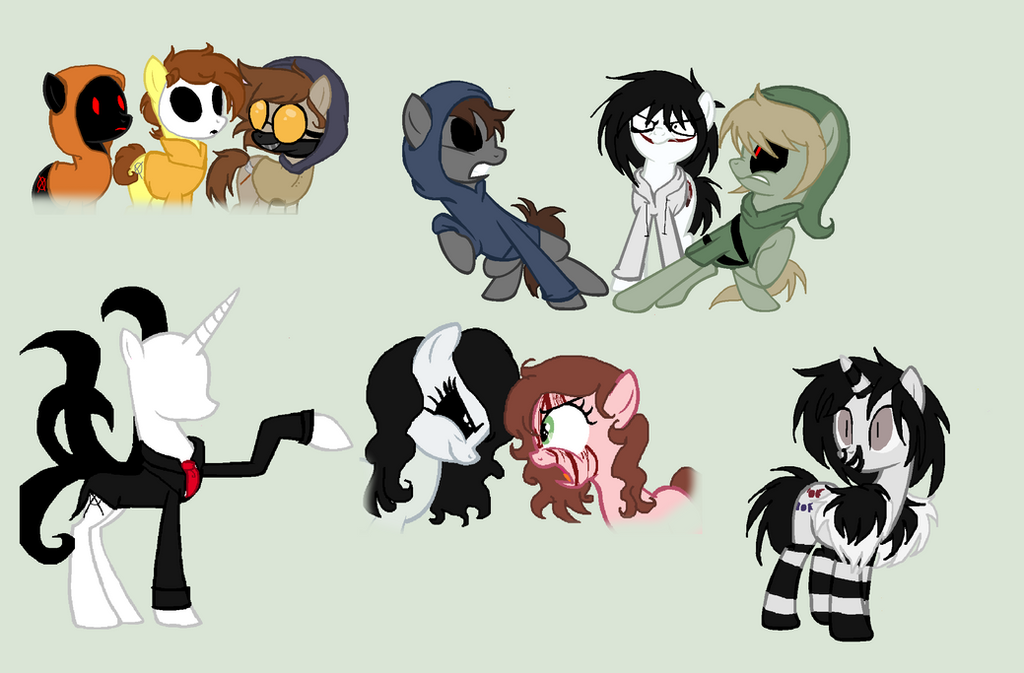 My little Creepypasta by love-me-drowned on DeviantArt