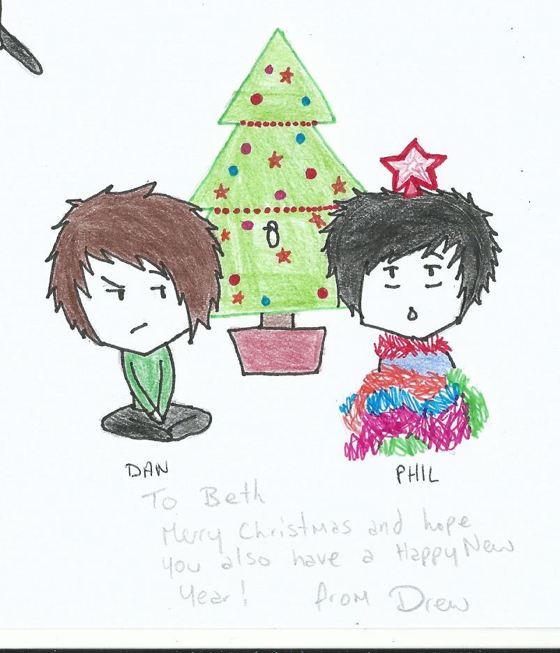 virtual christmas card littlephilosaur by ninjabuscus - Virtual Christmas Cards