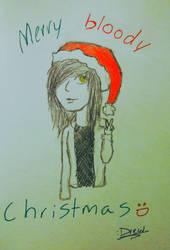 merry christmas, kiss my ass by Ninjabuscus