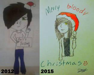 christmas progression by Ninjabuscus