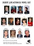 Dilbert live-action movie cast 2019