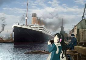Mio Takes Pictures of the Titanic