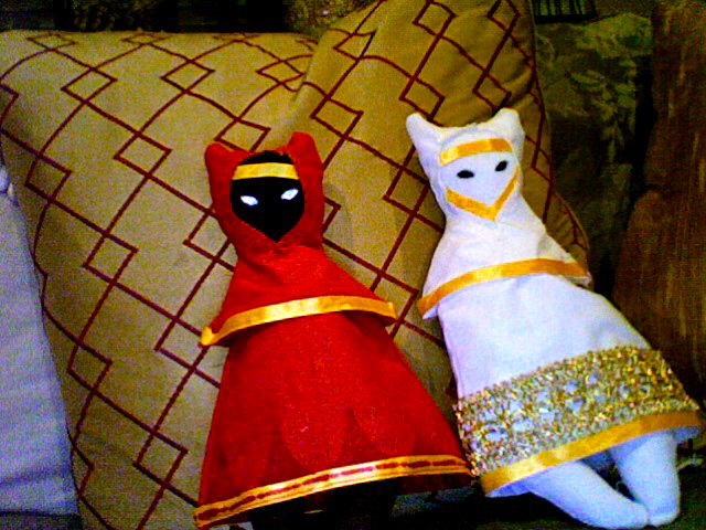 Traveler Dolls from Journey! by Jacobi-biscuit