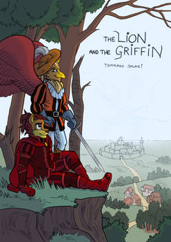 The Lion and the Griffin - Cover