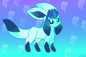 Glaceon by redburrie