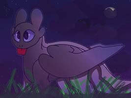 Dreamworks's crappy night furry oc