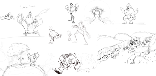 drawings in  WIP by schults