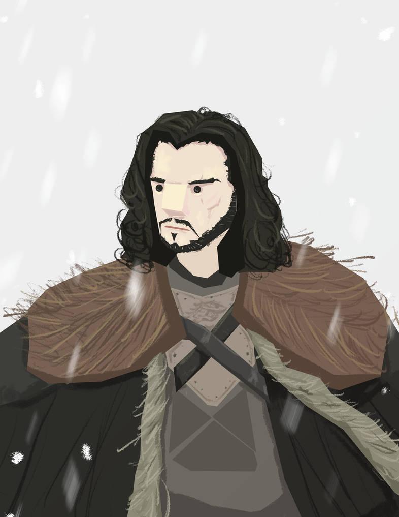 Jon Snow by schults