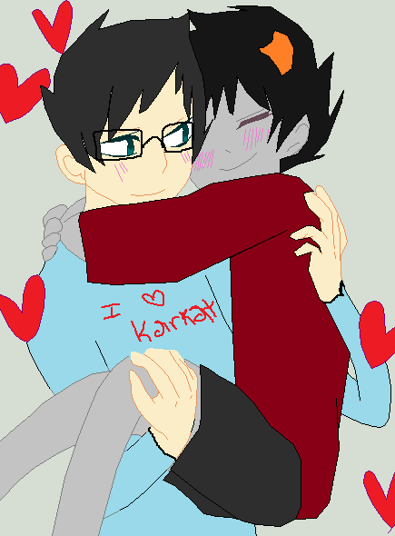Karkat John Livejournal John And Karkat Being Kawaii