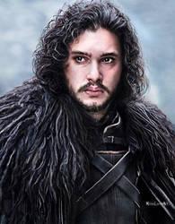Jon Snow by RosaLuceArt