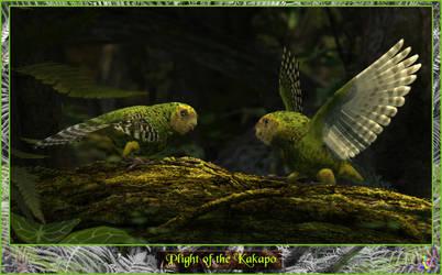 Plight of the Kakapoo by ItiseyeMeeSzark