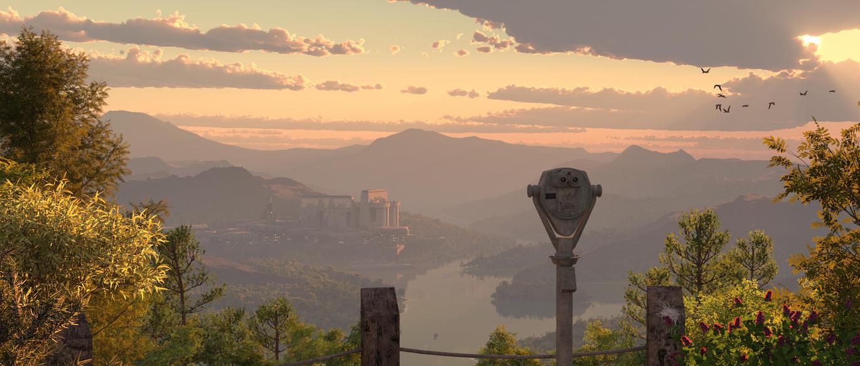 Vista Sunset by ItiseyeMeeSzark