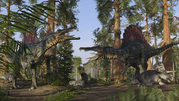 Spinosaurus and Friends
