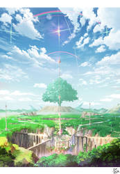 Fantasy Tower by Pigsomedom