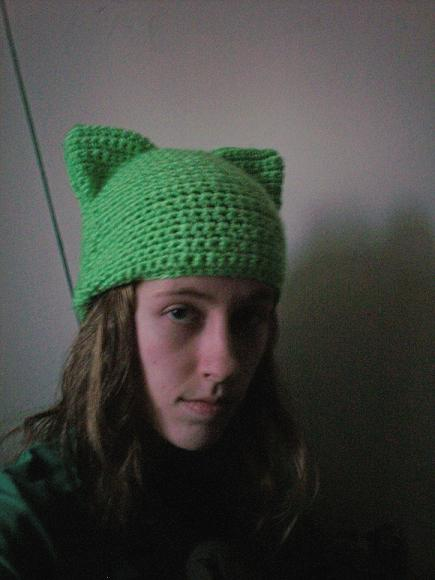 Cat Hat Crochet Pattern Classy CROCHET PATTERN Cat Hat Slouchy Hat Awesome Cat Hat Crochet Pattern