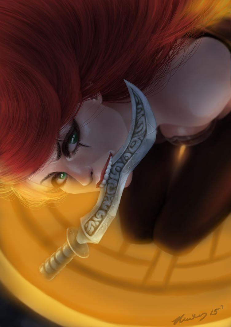 League of Legends - Katarina the Sinister Blade by waterpieces
