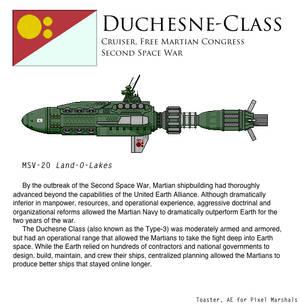 Duchesne-Class Cruiser