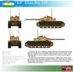''KB'' Khan Bey 105 Heavy Tank by Another-Eurasian