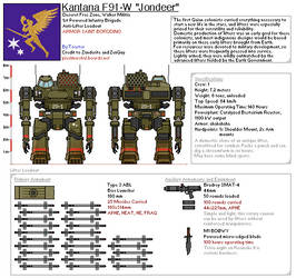 Kantana F91-W ''Jondeer''
