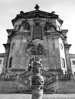 Hospital Kuks - Kostel Nejsvetejsi trojice