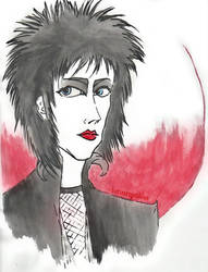 Siouxsie is a Punk Rocker by LotusReptilian