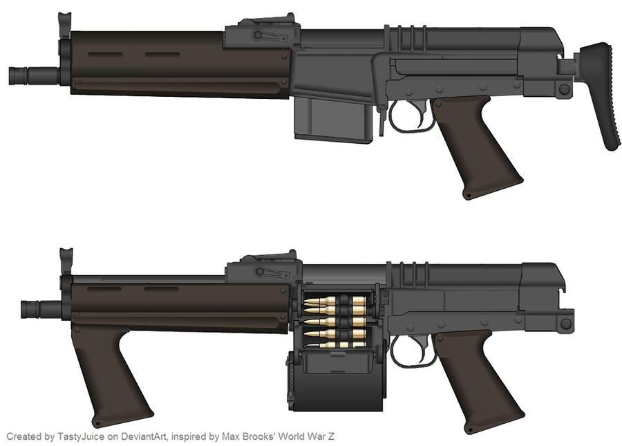 Standard Infantry Rifle [Inspired by WWZ] by TastyJuice
