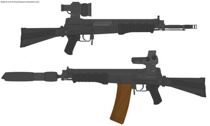 Izmash AK-97 by TastyJuice