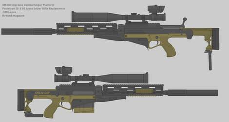 Sweetwater Texas XM338 CSP Prototype by TastyJuice