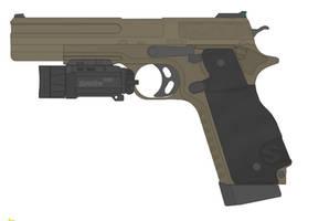 Sweetwater 'Operator' M1911E1 DA/SA by TastyJuice