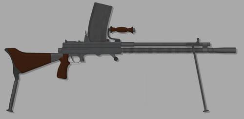 Shipper Type 98 'Toggle-locking' Light Machine Gun by TastyJuice