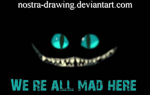 Cheshire cat by Nostra-Drawing
